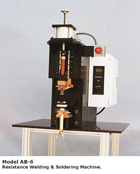 Hanson Welding Machines - Model AB-6